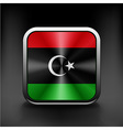 Flag of Libya icon world country symbol vector image vector image