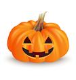 Halloween funny pumpkin vector image