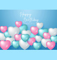 happy birthday celebration design for greeting vector image vector image