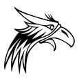 eagle mascot logo vector image