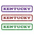 kentucky watermark stamp vector image