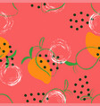 abstract mango pattern vector image vector image