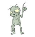 alien draw vector image