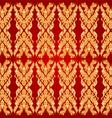 Art pattern bayon style vector image vector image