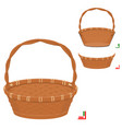 basket assembly vector image vector image