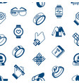 digital wearable technology icons set vector image