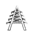 electrical tower icon vector image vector image