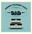 Fathers day boxes vector image vector image