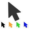 mouse pointer icon vector image vector image