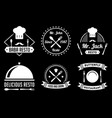 restaurant badge and logo good for print vector image vector image