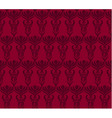 Seamless wallpaper pattern in red colors vector image vector image