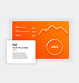 ui kit icons infographic templates for business vector image vector image