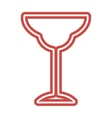 Wine Glass icon goblet symbol flat