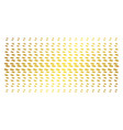 care hands gold halftone array vector image vector image