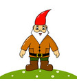 cute gay garden gnome vector image
