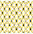 seamless geometric hipster pattern vector image vector image