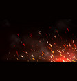weld sparks or metal cutting blade work background