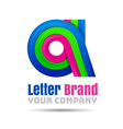 A Letter Logo Icon Element design Template for vector image