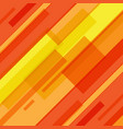 abstract red and yellow lines technology motion vector image vector image