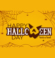 for halloween day vector image vector image