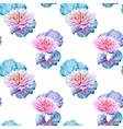 Lotus flowers pattern vector image vector image