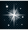 Shine star sparkle icon 16 vector image vector image