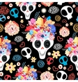 The beautiful of skulls vector image vector image