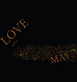 You may be in love if text background word cloud