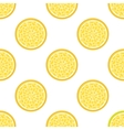Lemon abstract seamless pattern vector image