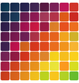 abstract colorful rounded squares vector image