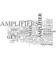 amphibious atv text word cloud concept vector image vector image