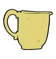 comic cartoon mug vector image vector image
