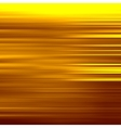 Gold waves background Metal plate with reflected vector image