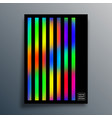 gradient texture template with linear design vector image vector image