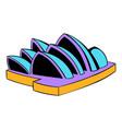 Sydney opera house icon cartoon vector image