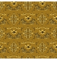 Arabic damask pattern vector image vector image