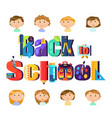 back to school stationery and pupils children
