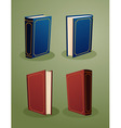 books in various angle Copy vector image vector image