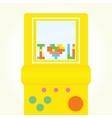 I love you brick game postcard vector image vector image