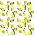 lemon bright seamless pattern with seeds in vector image