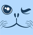 seal face vector image vector image