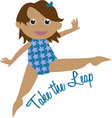 Take The Leap vector image vector image