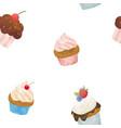 watercolor sweets set vector image