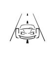 car emblem vector image vector image