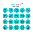 easy icons 09c money vector image vector image