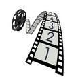 film roll vector image vector image