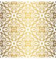 golden background luxury seamless pattern elegant vector image vector image
