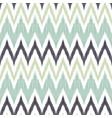 ikat chevron seamless pattern tribal background vector image