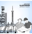 Industrial engineers vector image vector image