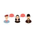 international communication translation concept vector image